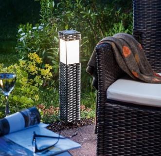 Elektrina alternat vne for Iluminacion solar de jardin